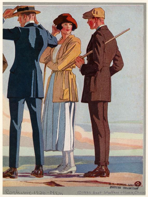 mens clothing ads 19141920s vlad voloshin
